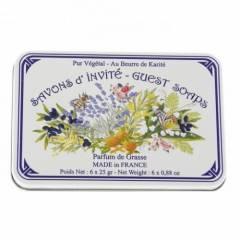 Мыло подарочное в жестяной упаковке Le Blanc Ассорти, 150г