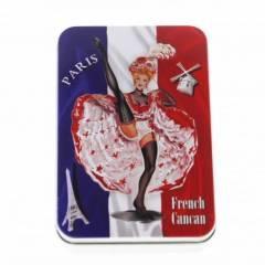 Подарочное мыло в жестяной упаковке Le Blanc Французский канкан 150г