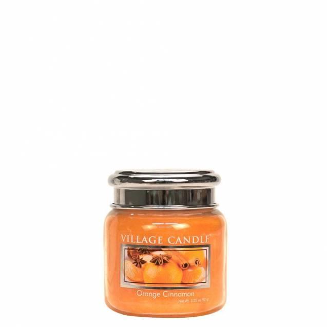 Свеча Village Candle Апельсин корица   (время горения до 25ч)
