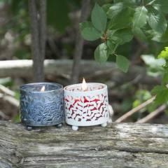 Подсвечник Village Candle Слоновая кость (металл) 5см