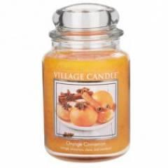 Свеча Village Candle Апельсин корица (время горения до 170ч)