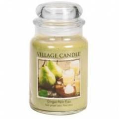 Свеча Village Candle Игристый имбирь с грушей   (время горения до 170ч)