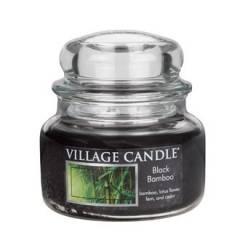 Свеча Village Candle Черный бамбук  (время горения до 55ч)