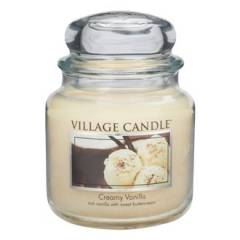 Свеча Village Candle Сливки с ванилью  (время горения до 105ч)