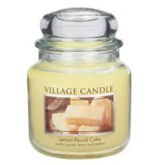 Свеча Village Candle Лимонный кекс   (время горения до 105ч)