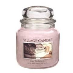 Свеча Village Candle Уютный кашемир (время горения до 105ч)