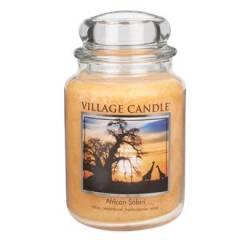 Свеча Village Candle Африканское сафари   (время горения до 170ч)