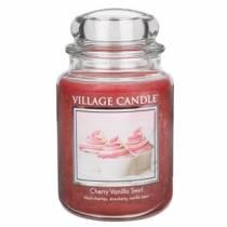 Свеча Village Candle Вишнево-ванильный вихрь   (время горения до 170ч)