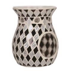 Аромалампа Village Candle Черные и белые бриллианты, 14 см