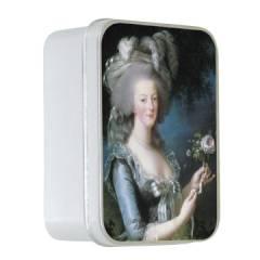 Натуральное мыло в жестяной упаковке Le Blanc Мария Антуанетта (Роза) 100г