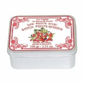 Натуральное мыло в жестяной упаковке Le Blanc Красные ягоды 100г