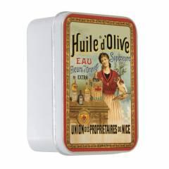 Натуральное мыло в жестяной упаковке Le Blanc  Оливковое масло (Оливковое) 100г