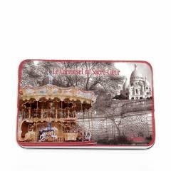 Мыло подарочное в жестяной упаковке Le Blanc CARROUSEL Ассорти, 150г