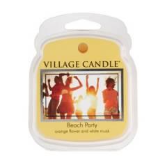 Аромавоск для аромаламп Village Candle Пляжная вечеринка  62г Время плавления: до 8 часов.