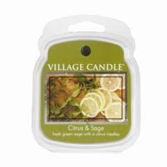 Аромавоск для аромаламп Village Candle Цитрус шалфей  62г Время плавления: до 8 часов.