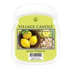 Аромавоск для аромаламп Village Candle Лимон фисташки 62г Время плавления: до 8 часов.