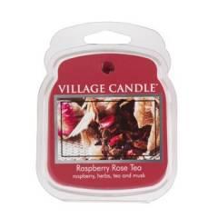 Аромавоск для аромаламп Village Candle Малиново-розовый чай 62г Время плавления: до 8 часов.